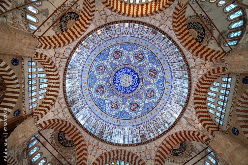 Fototapety, obrazy: Dome of Selimiye Mosque in Edirne, Turkey
