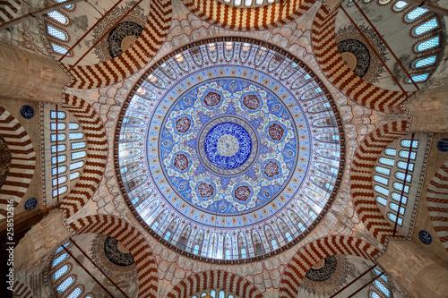 Dome of Selimiye Mosque in Edirne, Turkey Fototapeta