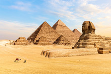 The Pyramids Of Giza And The G...