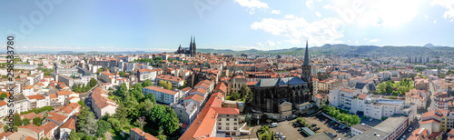 Fotografia  Luftaufnahme Clermont Ferrand