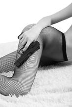 Gun And Tights