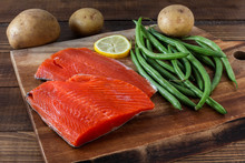 Sock Eyed Salmon With Organic ...