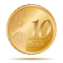 10 Euro Cent Coin