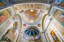 Church Of Santo Spirito Dei Napoletani In Rome, Italy.