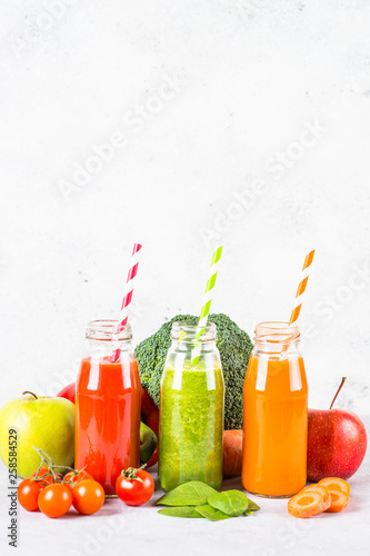 Recess Fitting Juice Fruit and Vegetable smoothie drink.