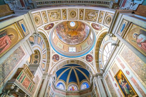 Fotografie, Obraz Church of Santo Spirito dei Napoletani in Rome, Italy.