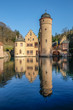 The Mespelbrunn water Castle  in Mespelbrunn, Germany