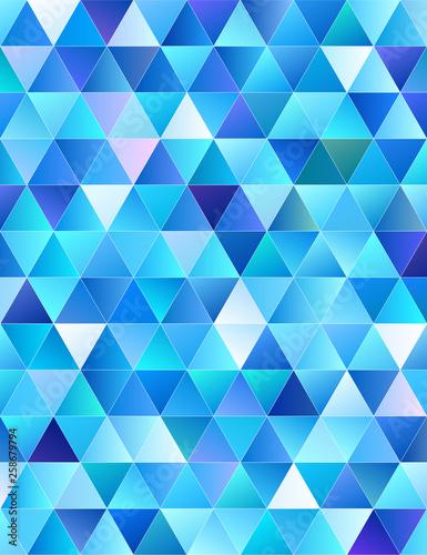 Keuken foto achterwand ZigZag Abstract Low-Poly background. triangulated texture. Design 3d. Polygonal geometrical pattern. Triangular modern style