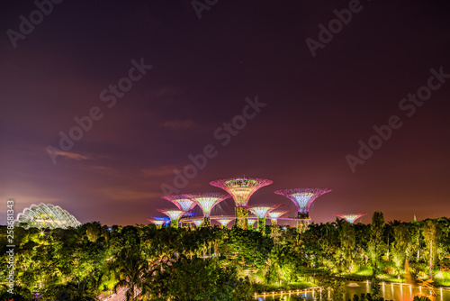 Foto auf Leinwand Indien Gardens by the bay in Singapore
