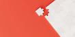 Leinwanddruck Bild - Jigsaw abstract background, business and teamwork concepts, 3d rendering