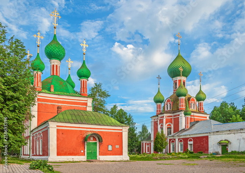 Obraz na plátně  Gold ring of Russia