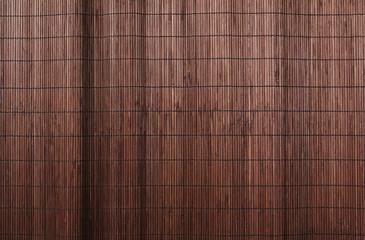 Zmięty bambus ściany tekstury tło