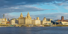 Liverpool Skyline, Ferry Across The Mersey, Iconic Historical Buildings