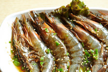 Korean Soy Sauce Marinated Shrimp