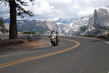 Motorcycle Riding In Yosemite National Park