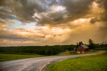 Rural Wisconsin Countryside Farm