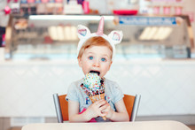 Cute Adorable Funny Caucasian ...
