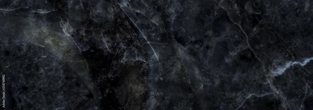 Fototapety, obrazy: black marble texture