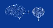 Brain With Heart In Screen