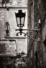 Old Buildings In Gothic Quarte...