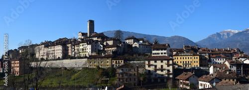 Feltre (Belluno) - Panorama Canvas Print