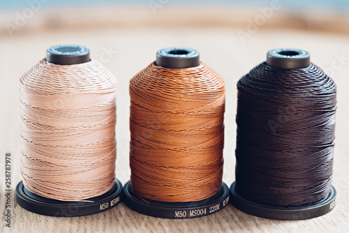 Fotografie, Tablou  High quality linen threads