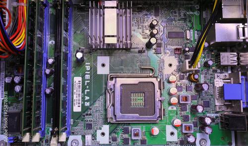 Photo Processore CPU computer circuito scheda madre