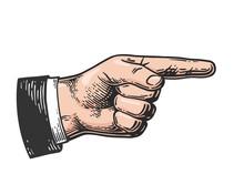 Pointer Finger Engraving