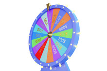 3d Illustration Colorful Wheel...