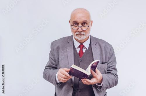 Fotografia Senior academic professor