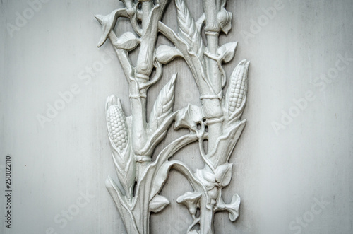 Valokuva Garden District Cornstalk Motif
