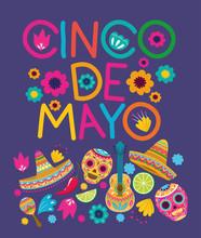 Cinco De Mayo Card Pattern