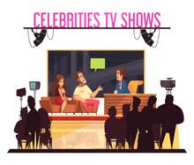 Celebrities TV  Show  Composit...
