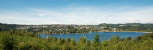 Wide View Over Lake Sorpesee W...