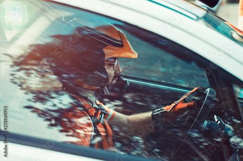 Obraz na plátně  Race driver