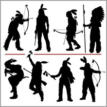 Wild West Silhouettes - Native...