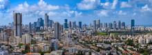 Panoramic Cityscape Of  Tel Av...