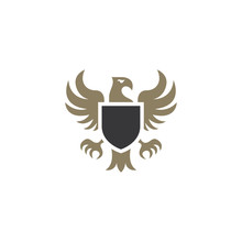 Heraldic Eagle Emblem Template...