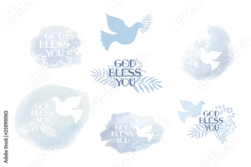 Photographie Classic, universal religious clip art God bless you