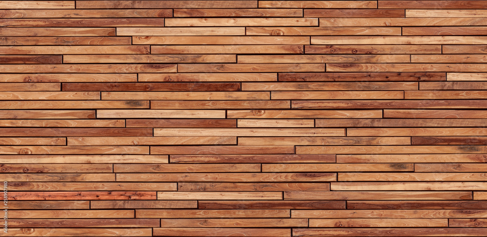 Fototapety, obrazy: Old wood wall texture , wooden background ,Beautiful Abstract , brick Texture Banner With Space For Text