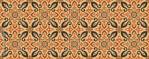 Azulejos Tile Vector Seamless Pattern