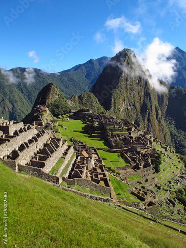 Machu Picchu, Inca, Peru, South America, Andes