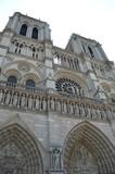 Fototapeta Paryż - Paryż Notre-Dame
