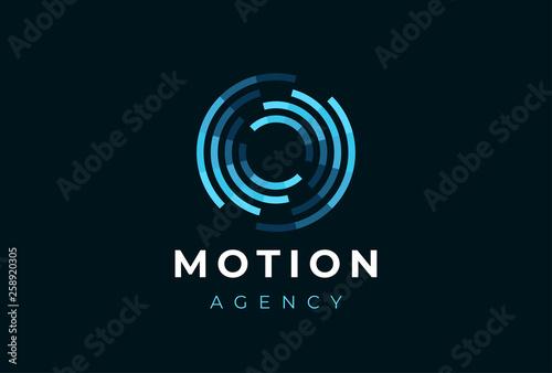 Foto Abstract circle logo
