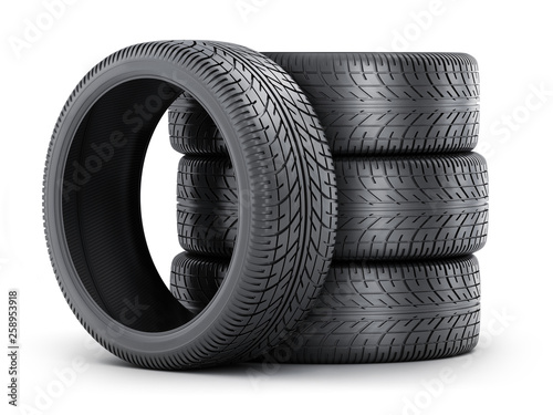 Obraz na plátně Four tire car