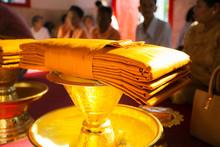 Newly Ordained Buddhist