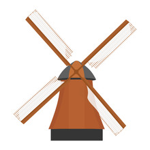 Traditional Rural Windmill