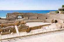 View Of Roman Amphitheater In Tarragona