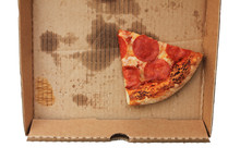 Leftover Pepperoni Pizza Slice...