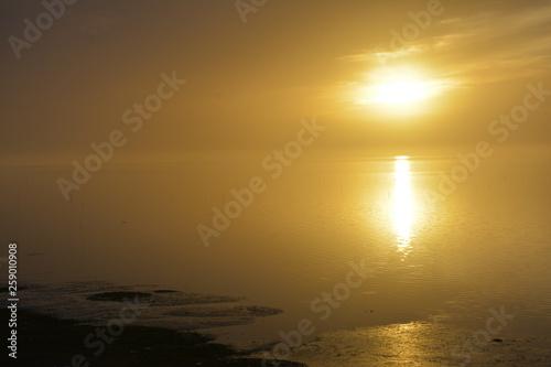 Washington Coast at Sunset